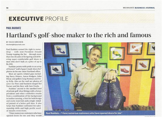 Milwaukee Business Journal Profile 1